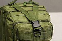 Тактический, военный, походный рюкзак Military. 25 L. Хаки. Милитари.  / T 423, фото 10