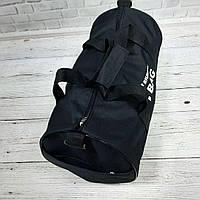 Спортивная сумка бочонок Triumph Bag. Для тренировок, путешествий. Черная, фото 5