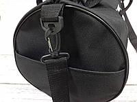 Спортивная сумка бочонок Triumph Bag. Для тренировок, путешествий. Черная, фото 8