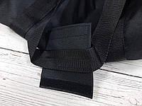 Спортивная сумка бочонок Triumph Bag. Для тренировок, путешествий. Черная, фото 10