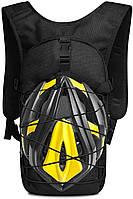 Качественный тактический рюкзак, туристический, велосипедный. Черный, фото 3