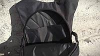 Качественный тактический рюкзак, туристический, велосипедный. Черный, фото 10