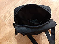 Черная мужская тактическая сумка барсетка, мессенджер., фото 6