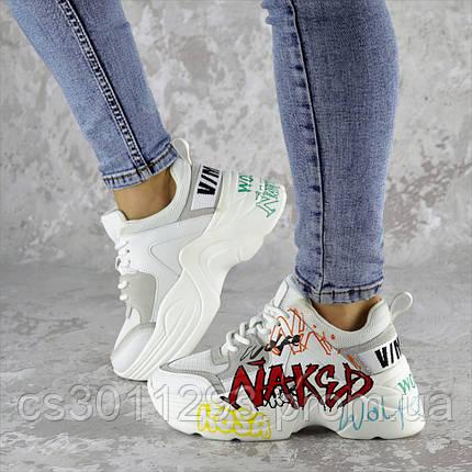 Кроссовки женские белые Simon 2222 (37 размер), фото 2