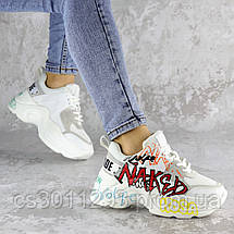 Кроссовки женские белые Simon 2222 (37 размер), фото 3