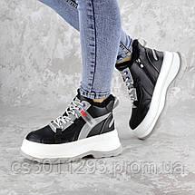 Кроссовки женские зимние черные Donno 2323 (38 размер), фото 2