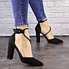 Туфли женские на каблуке Fashion Noisette 1481 40 размер 25,5 см Черный, фото 2