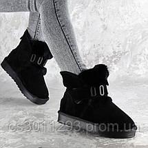 Угги женские Fashion Amotyoshy 2332 36 размер 23,5 см Черный, фото 3