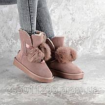 Угги женские Fashion Cheyenne 2347 40 размер 25,5 см Розовый, фото 2