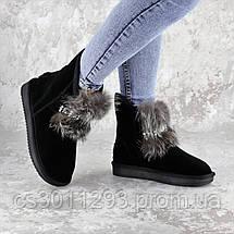 Угги женские Fashion Gabrielle 2277 36 размер 23 см Черный, фото 2