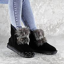Угги женские Fashion Gabrielle 2277 36 размер 23 см Черный, фото 3