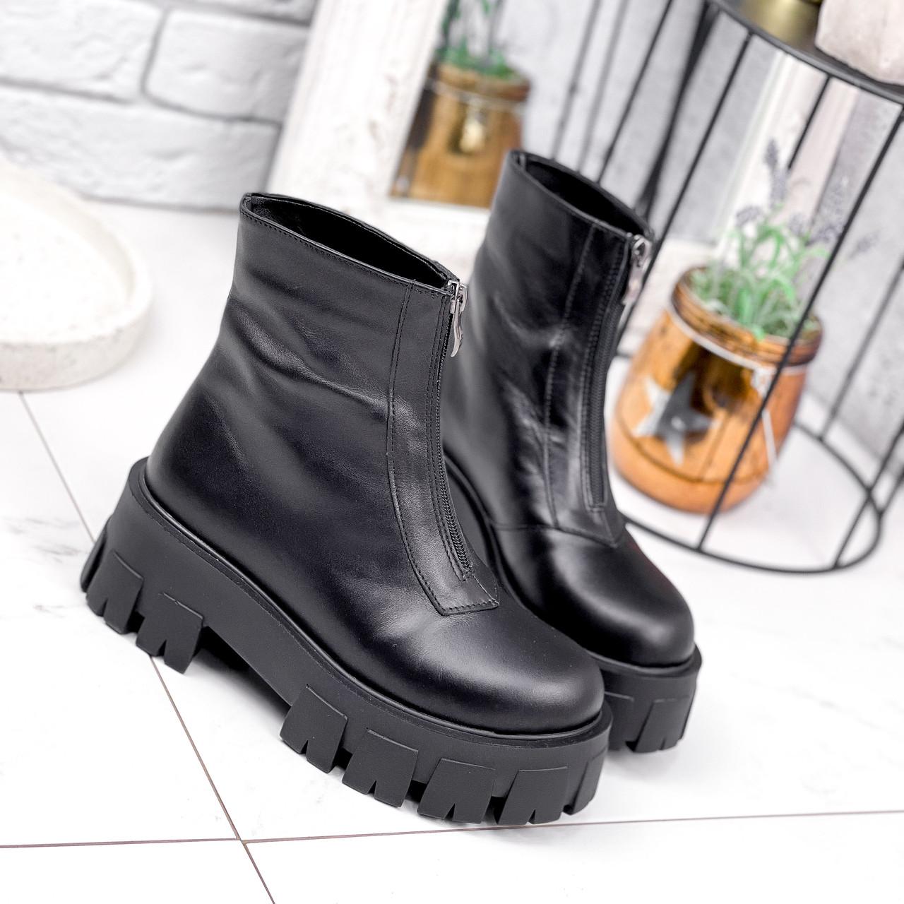 Ботинки женские Lieve черные ДЕМИ 2842