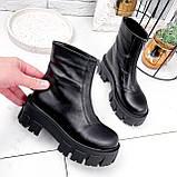 Ботинки женские Lieve черные ДЕМИ 2842, фото 2
