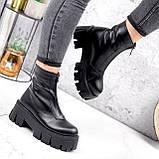 Ботинки женские Lieve черные ДЕМИ 2842, фото 4