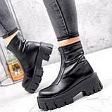 Ботинки женские Lieve черные ДЕМИ 2842, фото 5