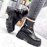 Ботинки женские Lieve черные ДЕМИ 2842, фото 6
