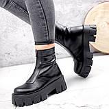 Ботинки женские Lieve черные ДЕМИ 2842, фото 9