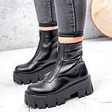 Ботинки женские Lieve черные ДЕМИ 2842, фото 7
