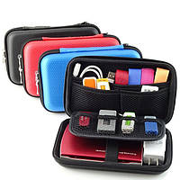 GUANHE сумка чехол для 2.5 дюйма внешнего USB жесткого диска или телефона карбон  Внутренний размер 167х95х35