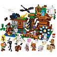 Конструктор Майнкрафт Лего Minecraft Большая компания Стива 986 дет, фото 5