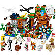 Конструктор Майнкрафт Лего Minecraft Большая компания Стива 986 дет, фото 2