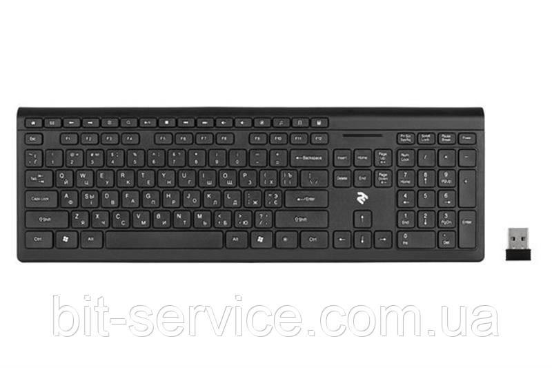 Безпровідна Клавіатура мультимедійна 2E 2E-KS210WB