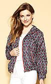 Женская куртка темно-синего цвета Penny Zaps, коллекция весна-лето 2021.