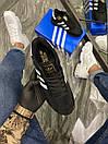 Adidas Iniki Black White (Чорний), фото 2