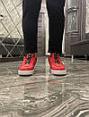 Nike Air Force 1 Low Red White (Красный), фото 9