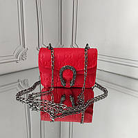 Мини кросс боди, детская красная сумочка, фото 1