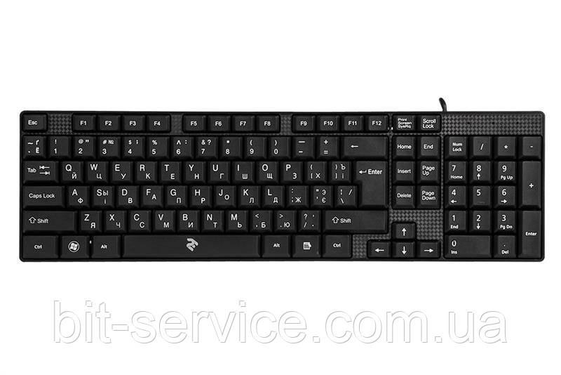 Клавіатура 2E KS 106 Black (2E-KS106UB)