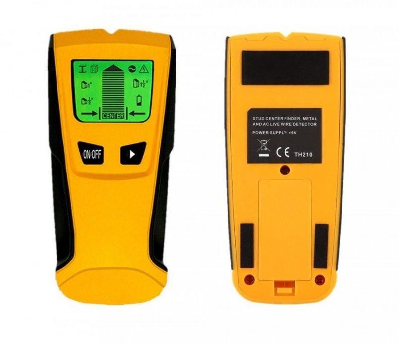 Мультисканер TH210, детектор скрытой проводки, металла и дерева.