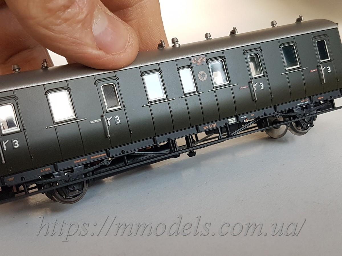 Liliput 334024 масштабная модель вагона III класса, типа Cd 21, принадлежности DRG, масштаба Н0 (1/87)