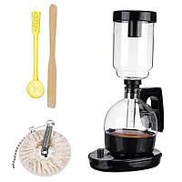 550 Вт електричний сифон кавоварка фільтр крапельного кава-машина скла ручної кави точильник