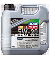 Моторное масло синтетика LIQUI MOLY 5W-20 4L LEICHTLAUF SPECIAL АА Honda, Mazda, Mitsubishi, Nissan