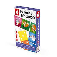 Игра мемо Janod Домино Животные J02737, КОД: 2438782