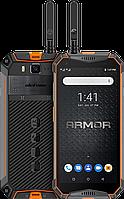 "Ulefone Armor 3WT, 6/64 Gb, 10300 мАч, IP68/IP69K, Walkie-Talkie, 21 Mpx, Дисплей 5.7"", Armor 3WT Orange/Black, фото 1"