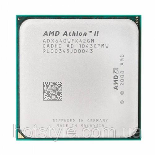 Процессор AMD Athlon II X4 640, 4 ядра, 3ГГц, AM2+, AM3, 103424