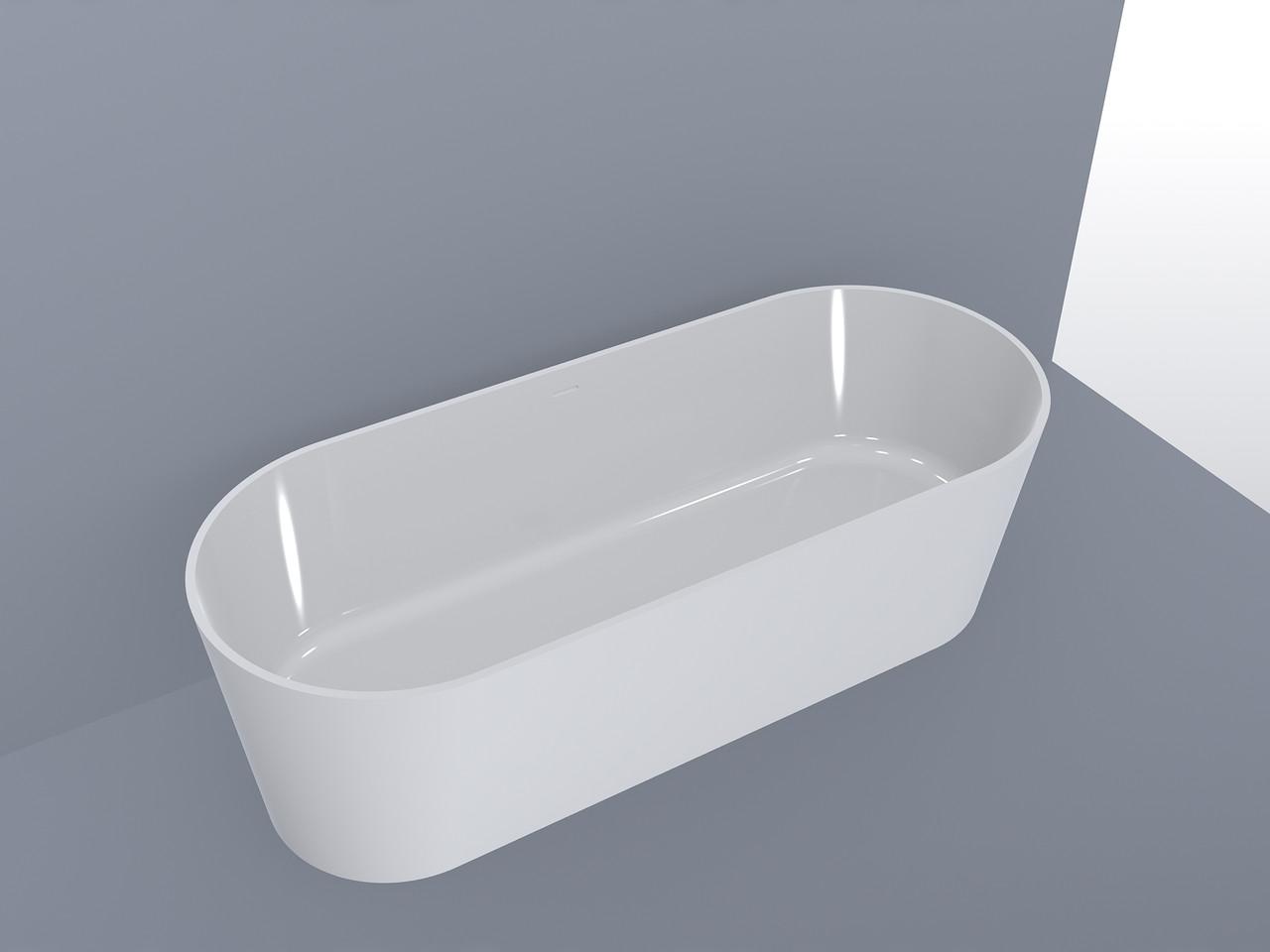 Ванна MIRAGGIO PROVIDENCE матовая с литого мрамора