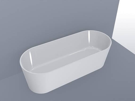 Ванна MIRAGGIO PROVIDENCE матовая с литого мрамора, фото 2
