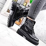 Ботинки женские Piton черные ДЕМИ 2841, фото 2