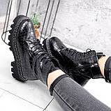 Ботинки женские Piton черные ДЕМИ 2841, фото 3