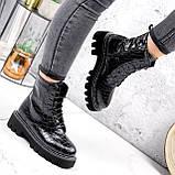 Ботинки женские Piton черные ДЕМИ 2841, фото 8
