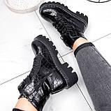 Ботинки женские Piton черные ДЕМИ 2841, фото 7