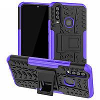 Чехол Armor Case для Vivo Y15 / Y17 Purple