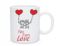 Чашка для влюбленных For ever Love