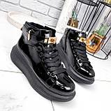 Ботинки женские Erme черные ДЕМИ 2840, фото 2