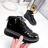 Ботинки женские Erme черные ДЕМИ 2840, фото 3