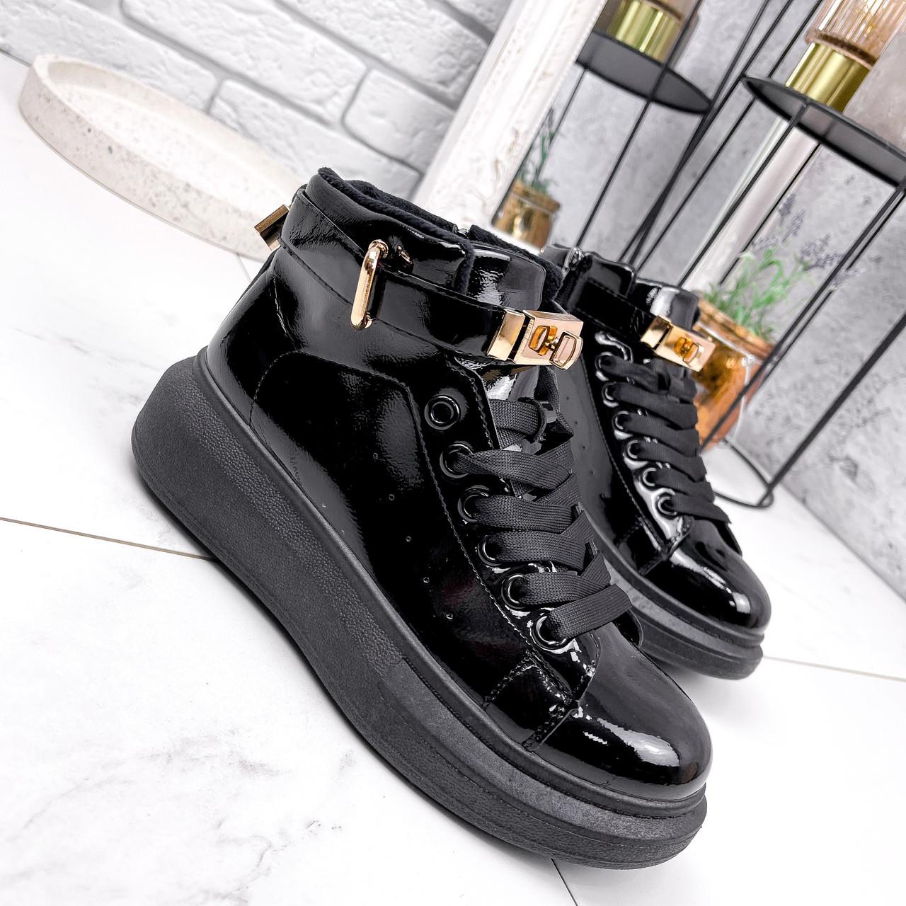 Ботинки женские Erme черные ДЕМИ 2840