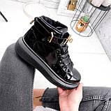 Ботинки женские Erme черные ДЕМИ 2840, фото 8